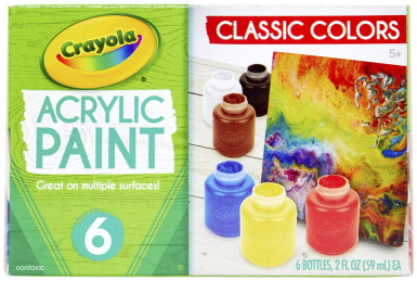 Acrylic paint set school specialty marketplace for Acrylic paint water resistant