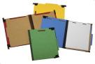NECI Hanging Pressboard Partition Folder, Cobalt Blue, Pack of 10
