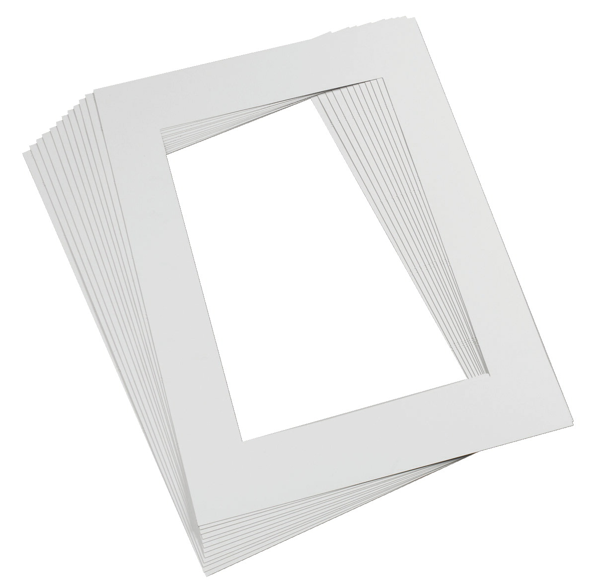 Pacon Pre-Cut Mat Frame, White - SOAR Life Products