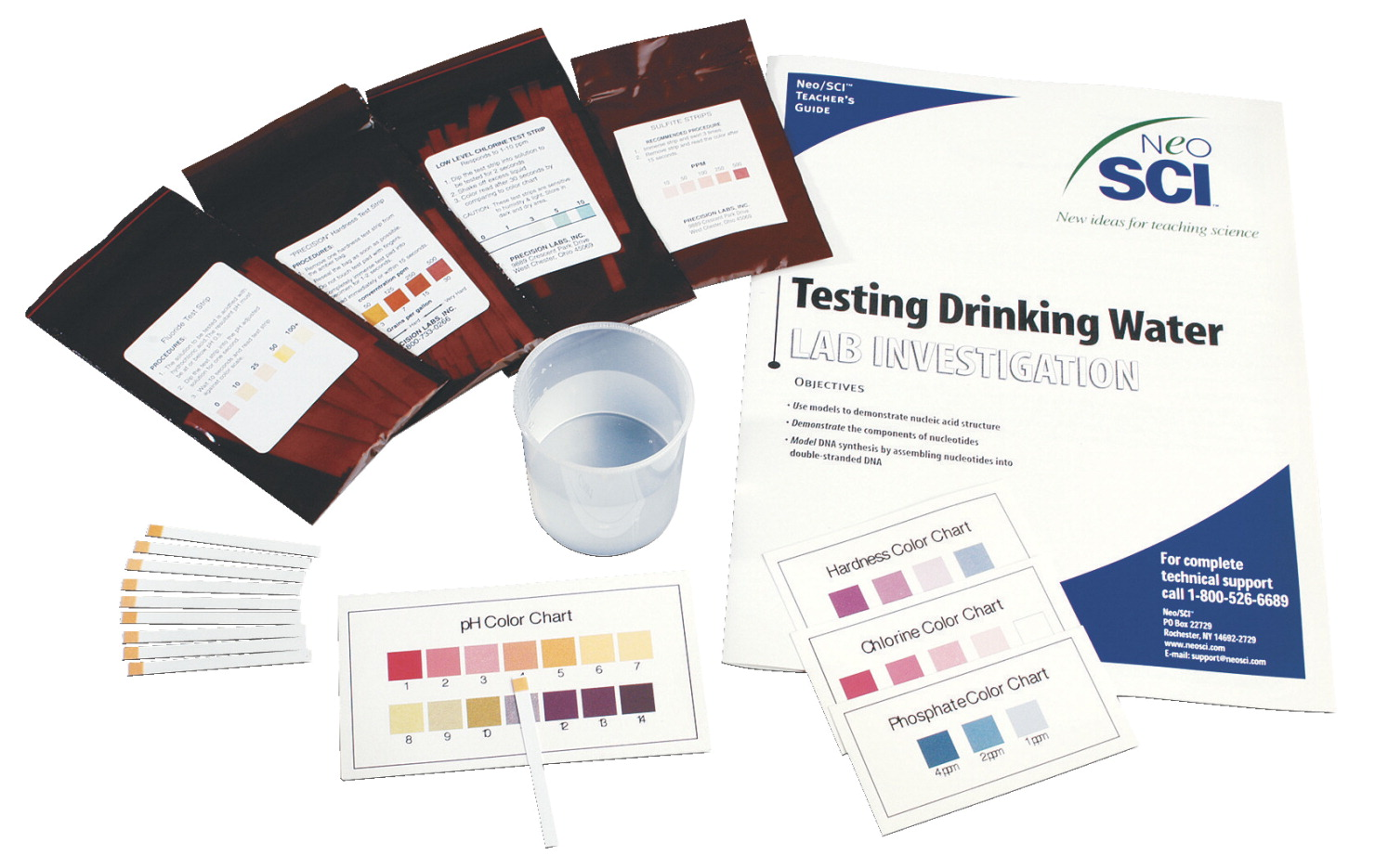 Neo/SCI Water Quality Test Kit Series - Testing Drinking Water Lab