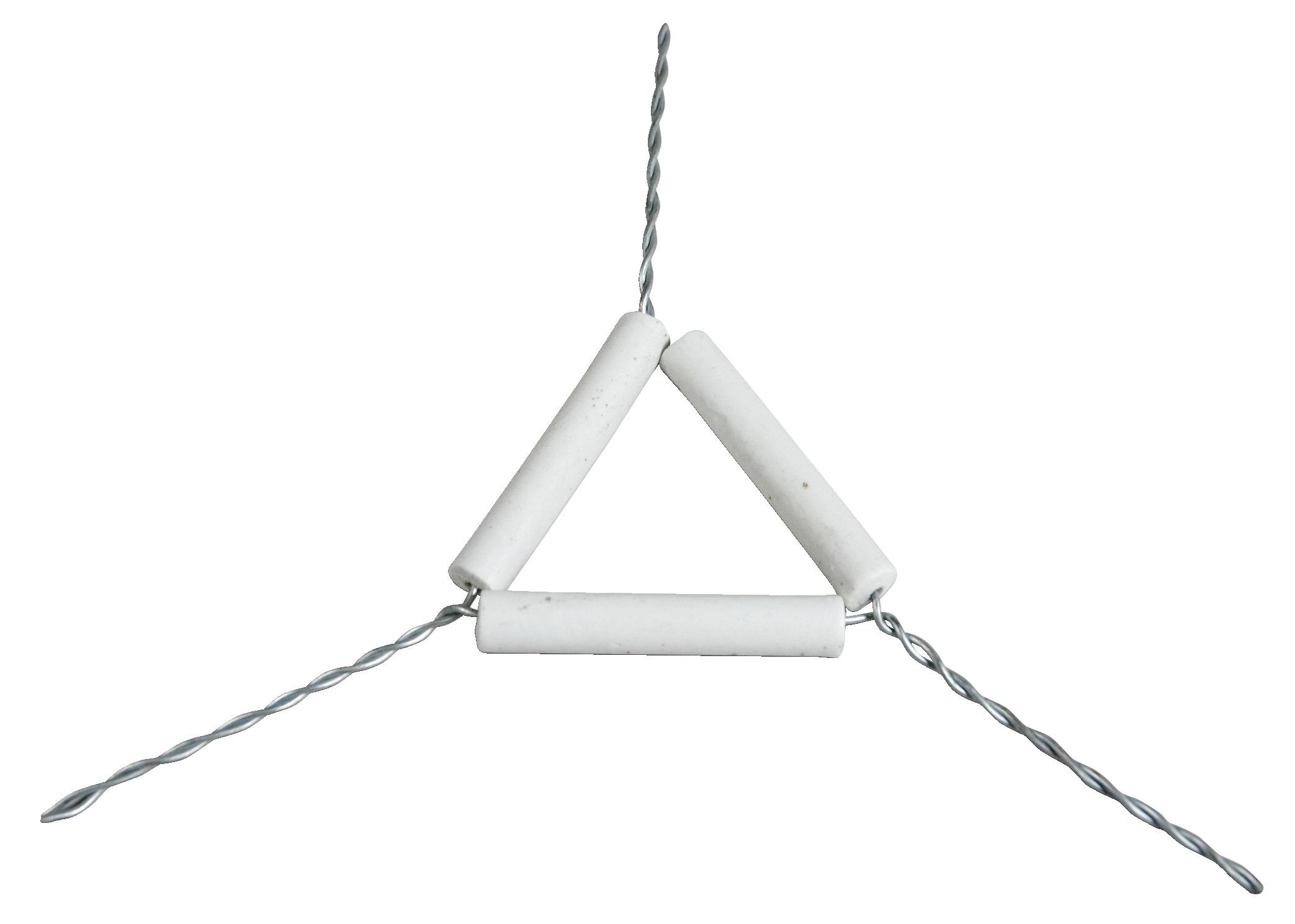 Crucible Triangle - FREY SCIENTIFIC  for Laboratory Clay Triangle  8lpfiz