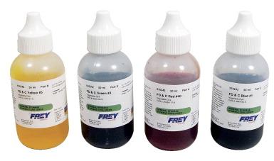 Frey Scientific Food Coloring Set - FREY SCIENTIFIC & CPO SCIENCE