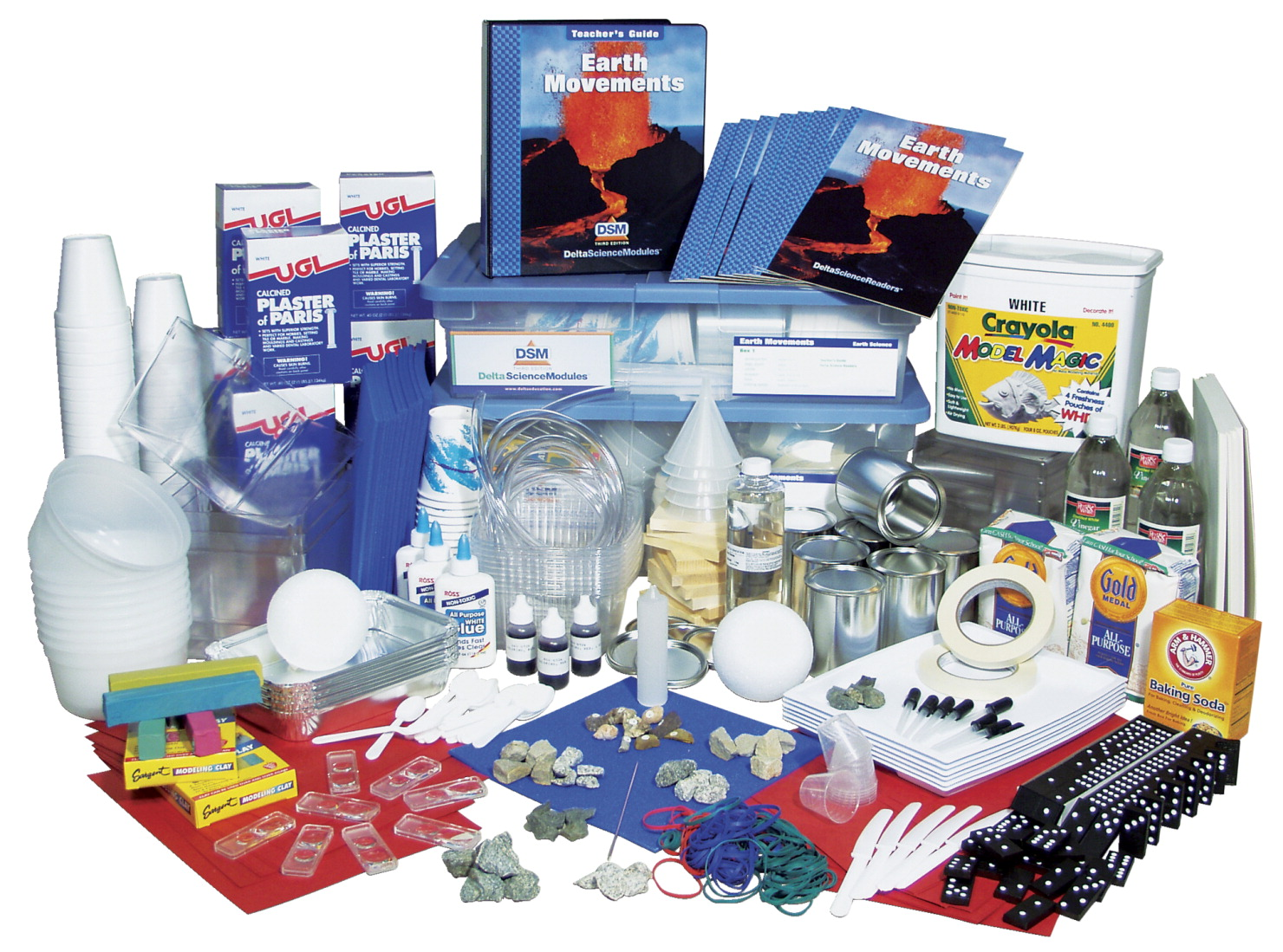 Delta Science Module DSM-3 Earth Movements Science Module Complete Kit