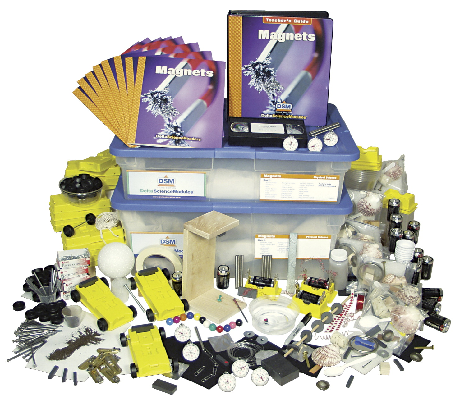 Delta Science Module DSM-3 Magnets Science Module Complete Kit