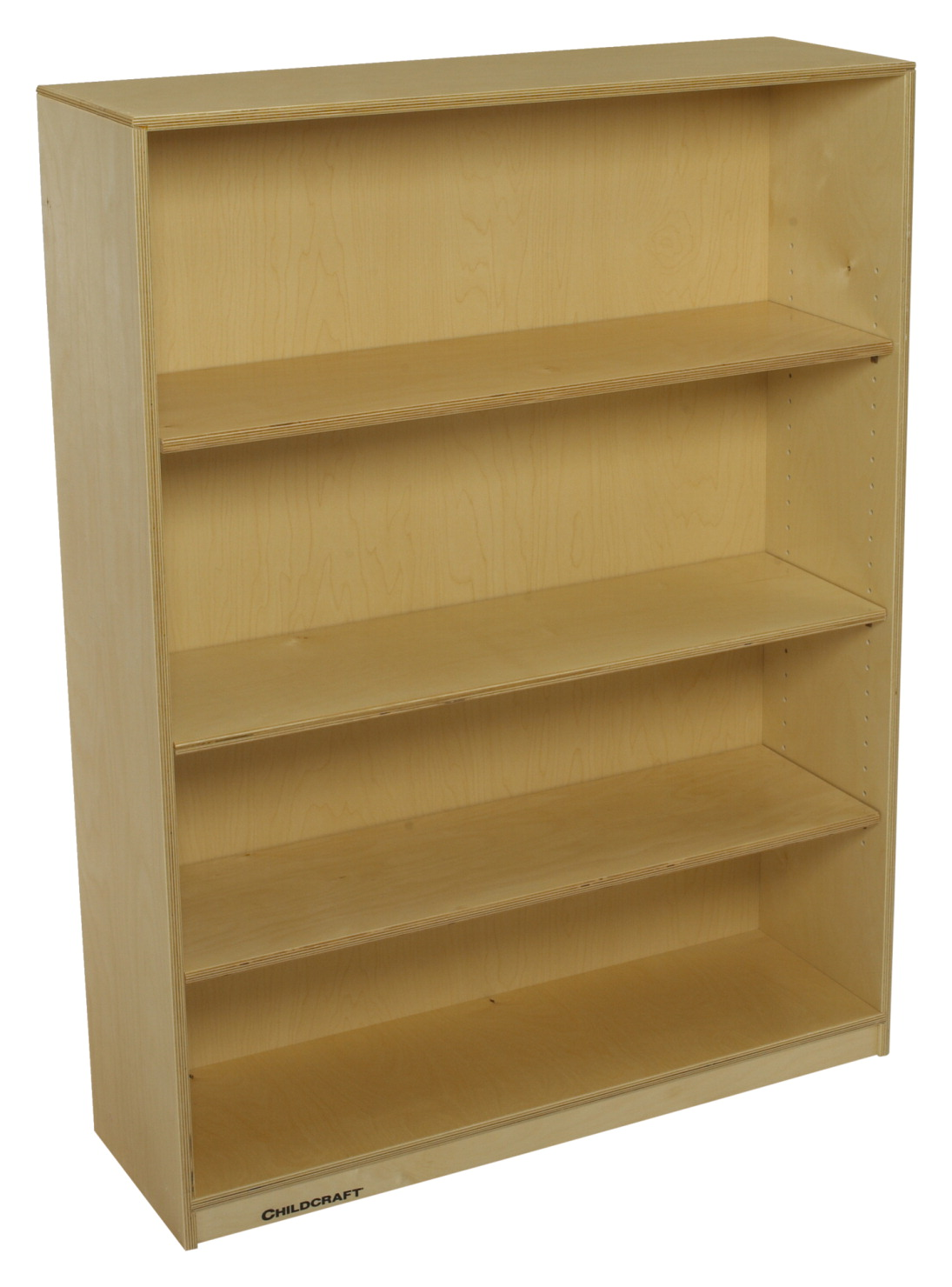 Childcraft Adjustable Bookshelf 4 Shelves 35 3 X 11 5