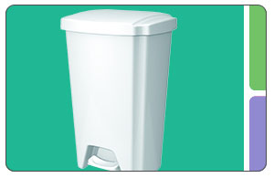 Hefty Step-On Wastebasket
