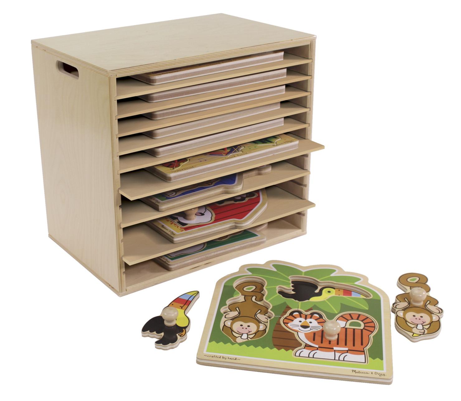 Puzzle rack school specialty marketplace