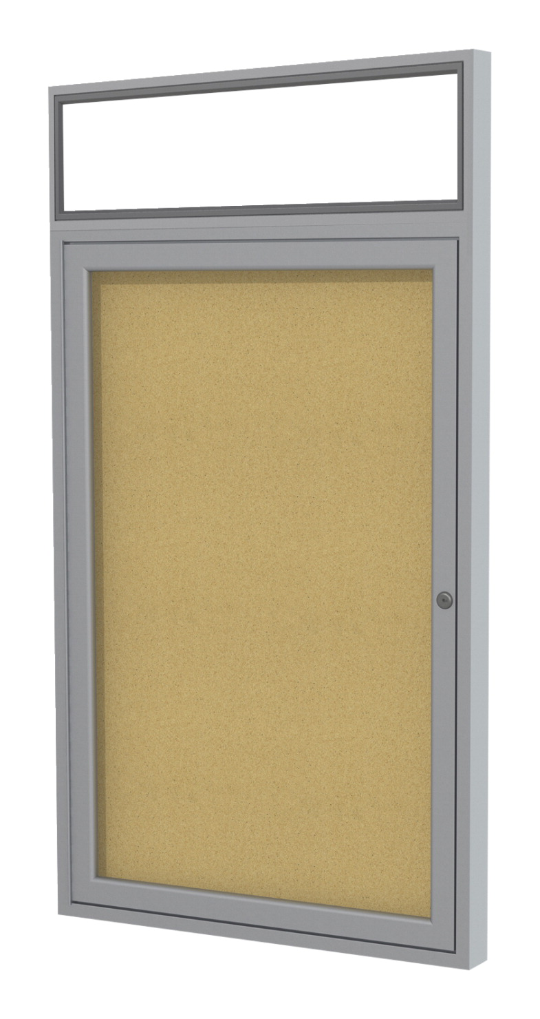 ghent enclosed indoor bulletin board soar life products