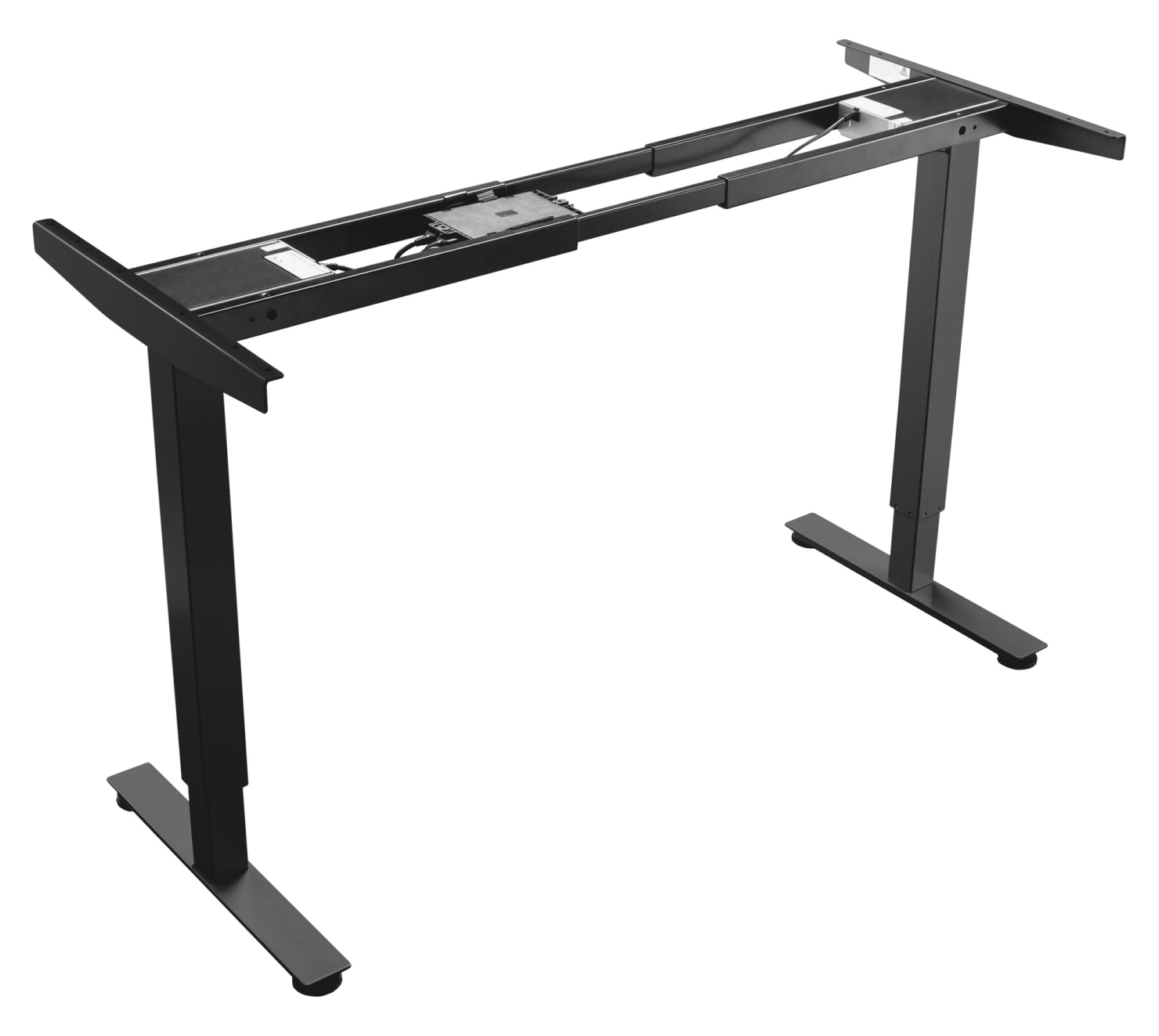 Lorell 24 in Tabletop Adjustable Sit-Stand Work Station Frame, 2D ...