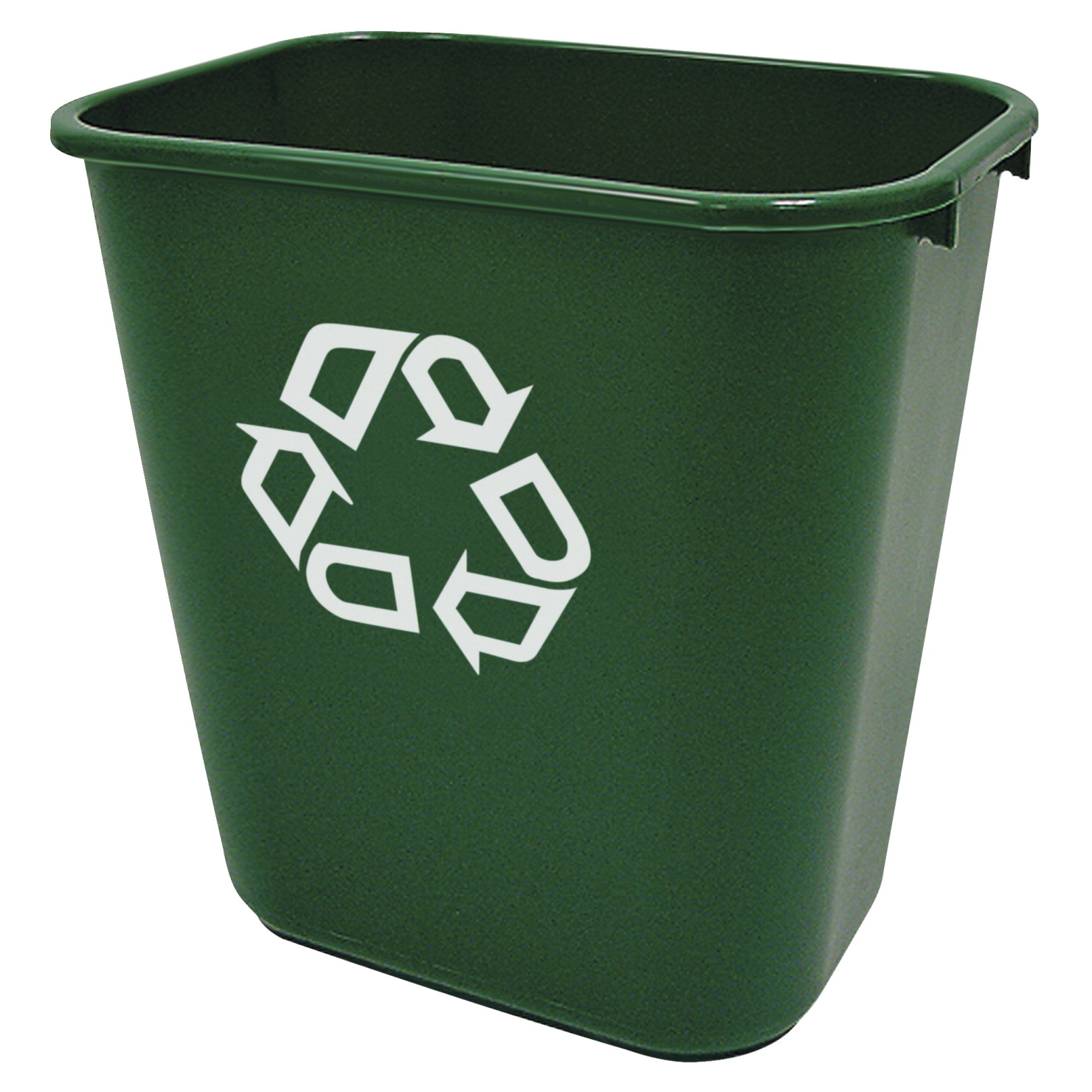 Rubbermaid commercial recycling symbol container green soar life rubbermaid commercial recycling symbol container 10 14 x 14 3 biocorpaavc Choice Image
