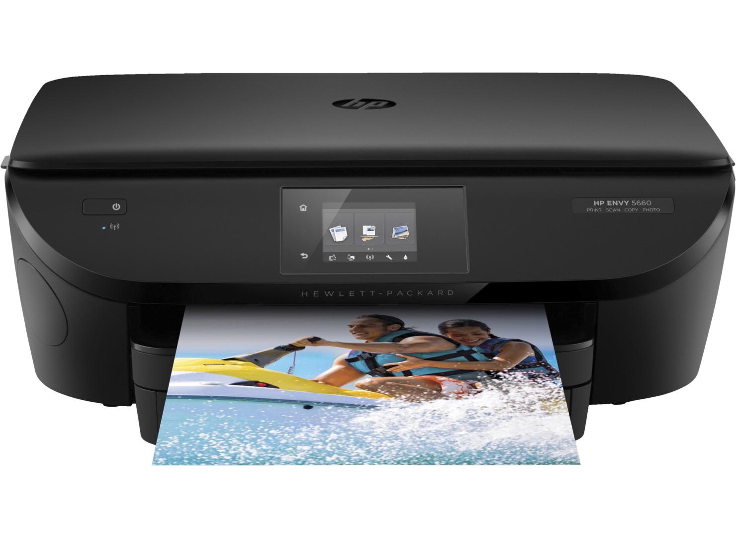 Hp Envy 5660 E All In One Printer 14 Ppm 125 Sheet