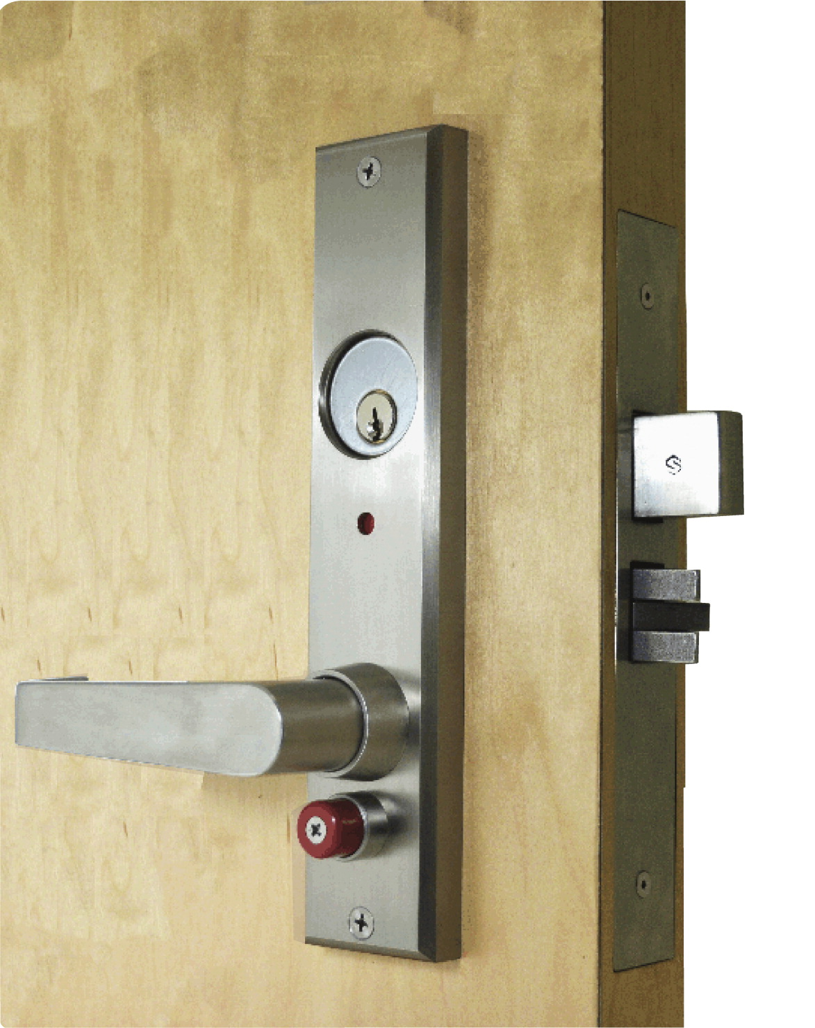 Guardian Quick Action Deadbolt Lock Mortise RHR, Type 1