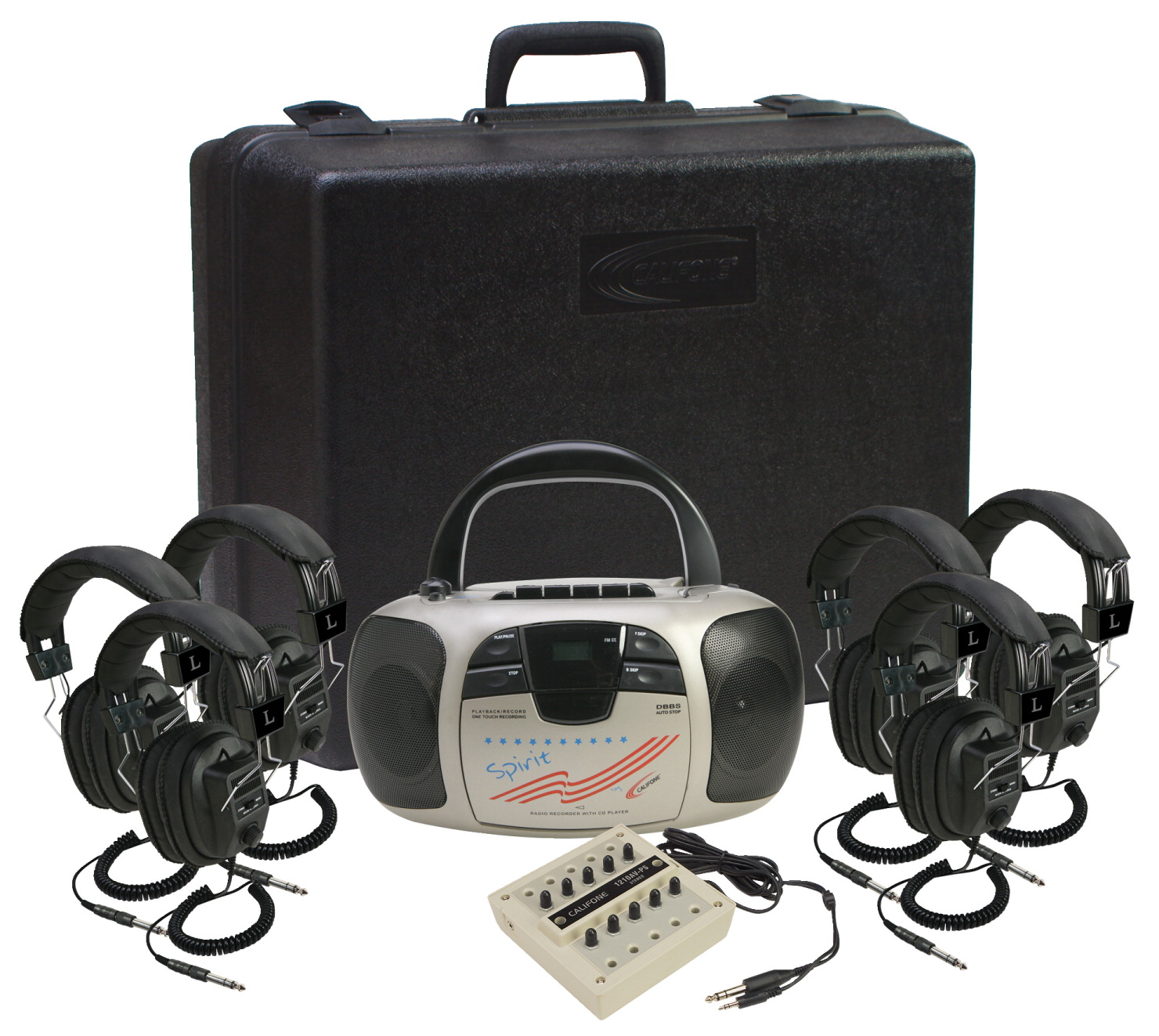 Califone 6-Person Spirit Listening Center, 1776PLC-6