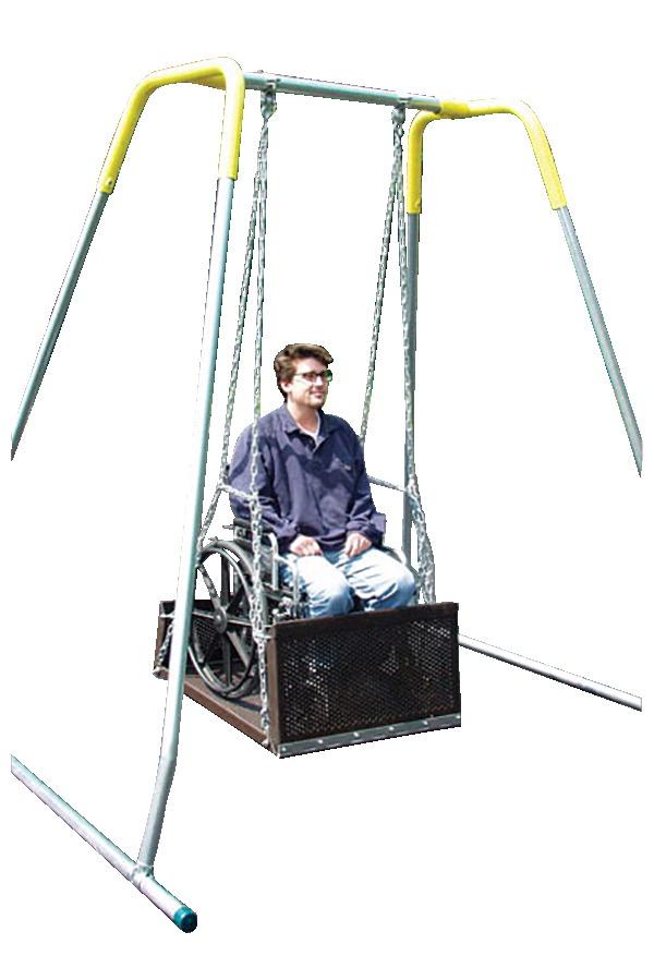 Wheelchair Platform Swing - SCHOOL SPECIALTY CANADA