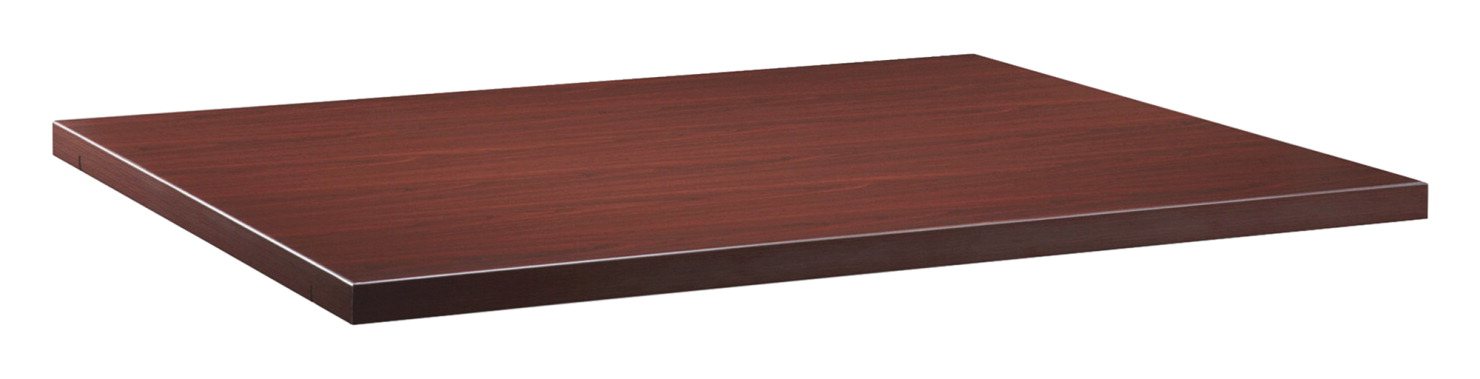 Lorell Modular Mahogany Conference Table Components Ft Starter - 5 ft conference table