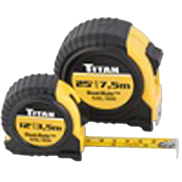 Titan Tape Rules, 2 Pack - 12 ft and 25 ft
