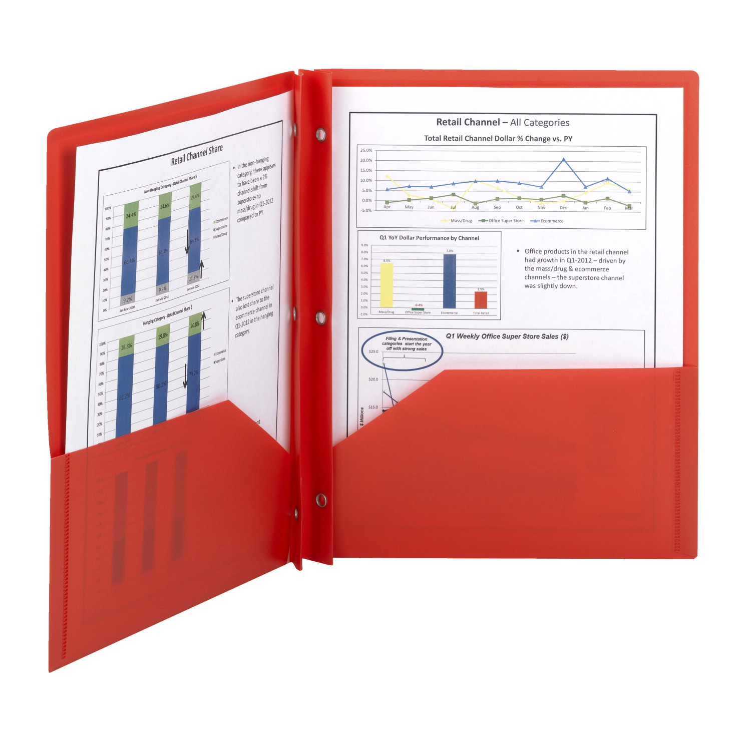 smead poly folder with prongs 2 pocket with prongs red pack of 25