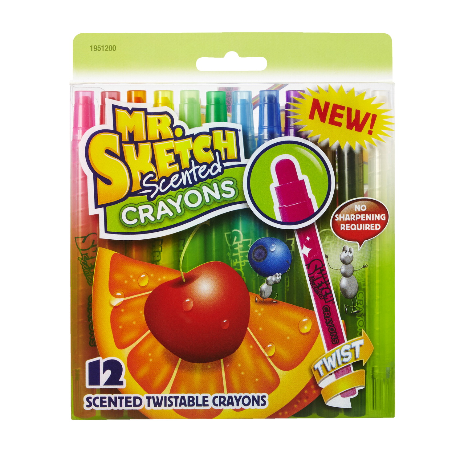 Mr. Sketch Scented Twistable Crayons, Set of 12