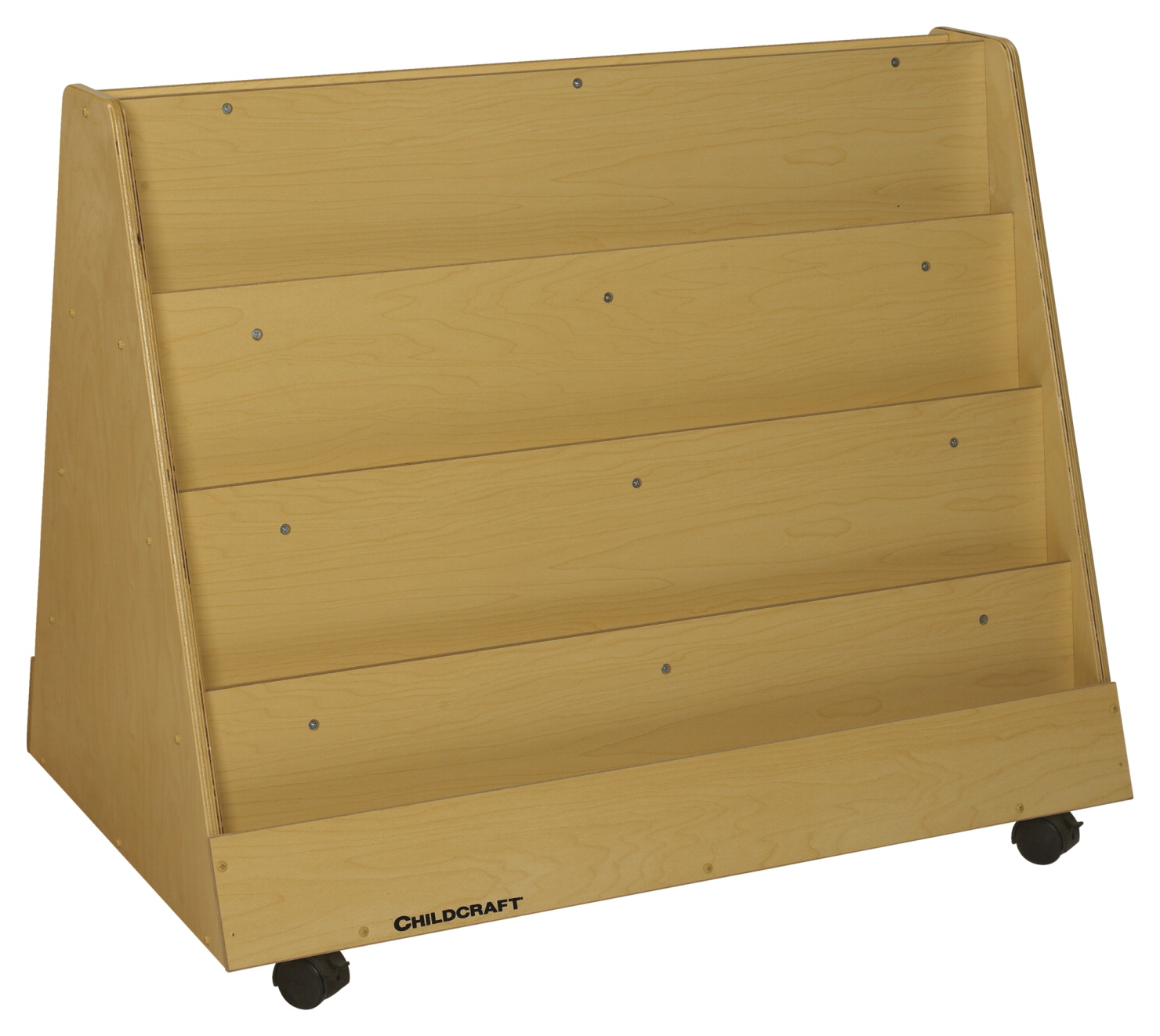 super popular 3905a 2253e Childcraft Mobile Book Display, Double Sided, 36 x 23-3/4 x 30-1/4 Inches