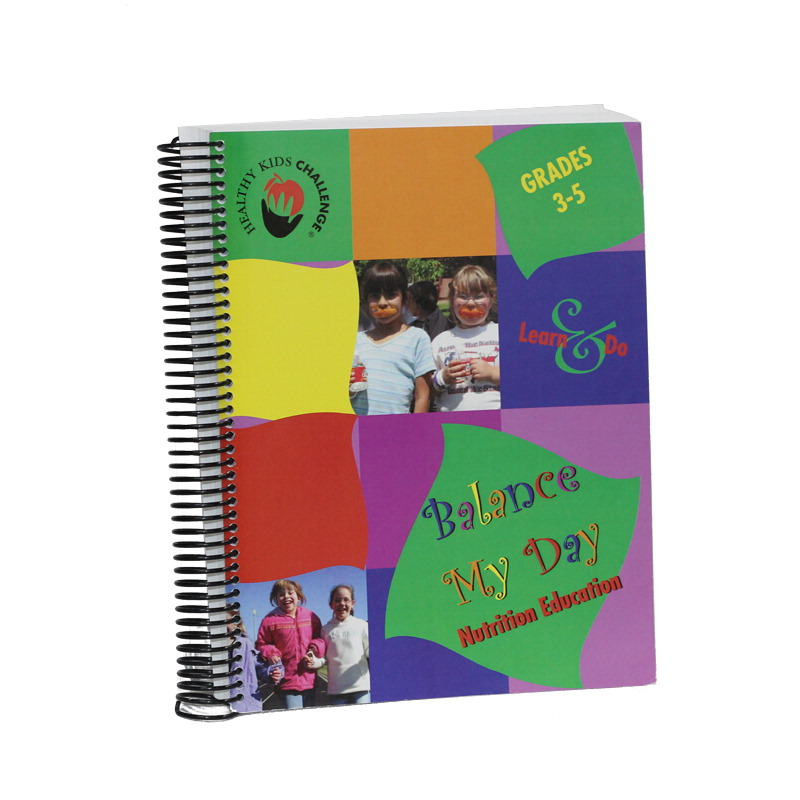 Healthy Kids Challenge Balance My Day Nutrition Education Curriculum Set 2, Grades 3 to 5