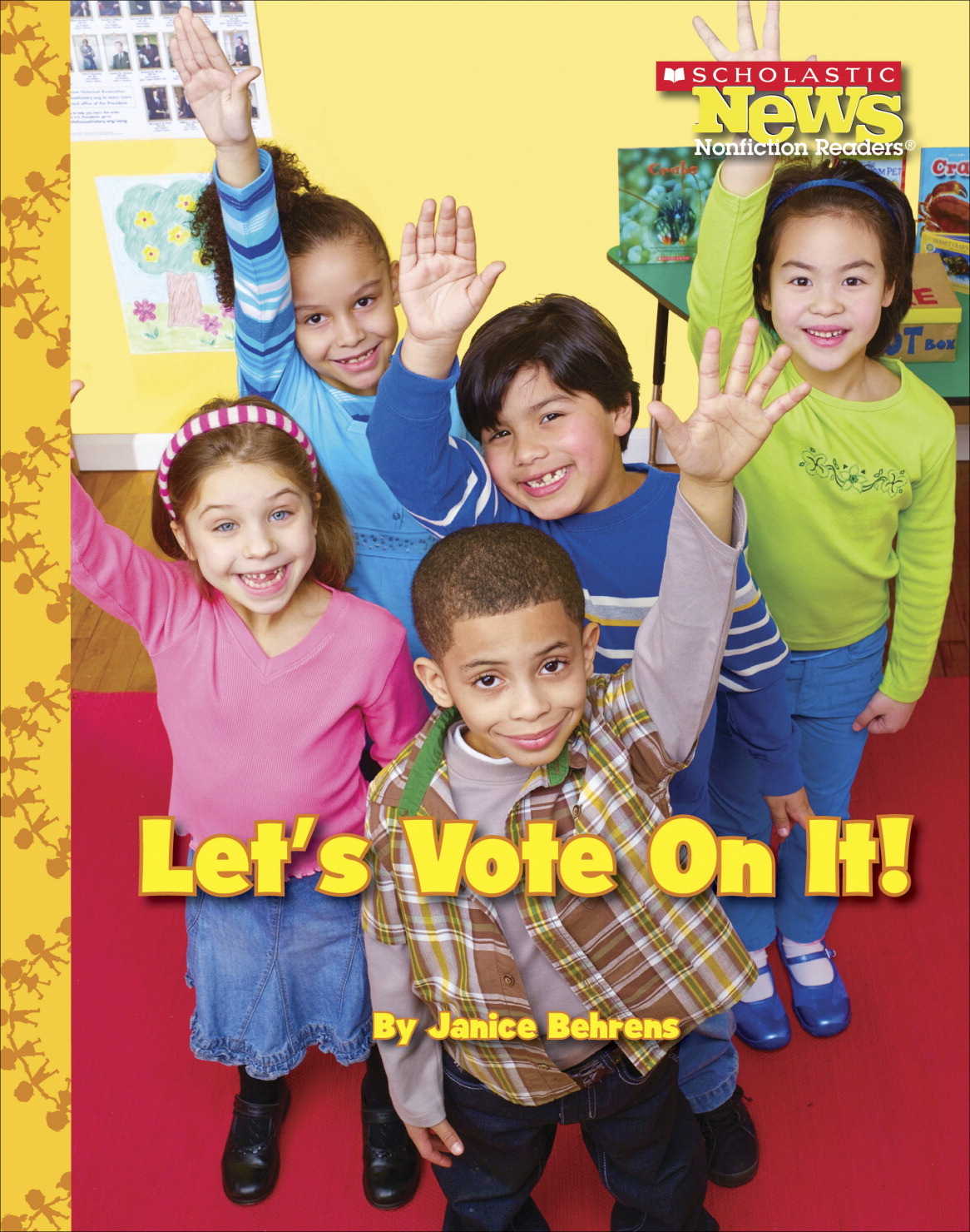 Scholastic Let's Vote On It, 24 pages