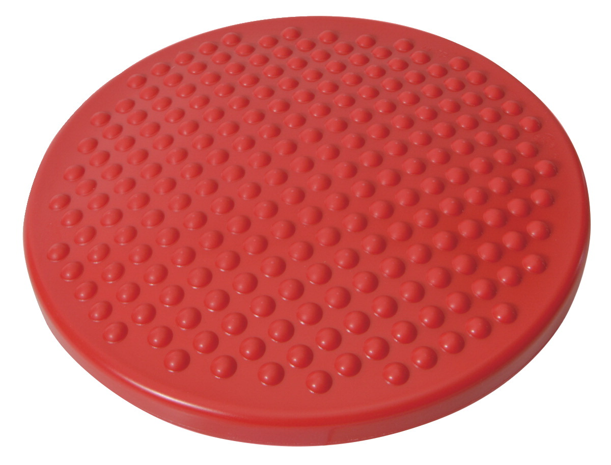 Gymnic Disc O Sit Inflatable Junior Seat Cushion, 12 Inches, Red