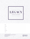 Premier Legacy Subject Rotation Lesson Plan Book, 352 Pages, 2016 to 2017