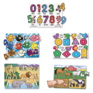 Early Childhood Knob Puzzles, Item Number 1303710