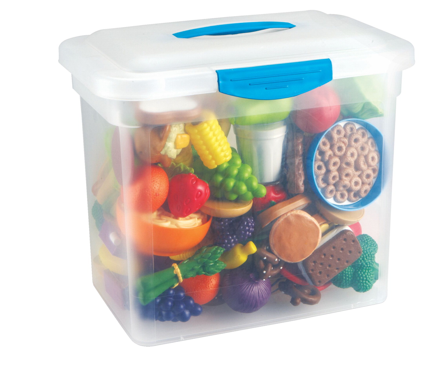 Play Food Set Toys : Learning resources new sprouts classroom play food set
