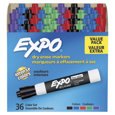 Expo Dry Erase Marker, Assorted Colors - SCHOOL SPECIALTY