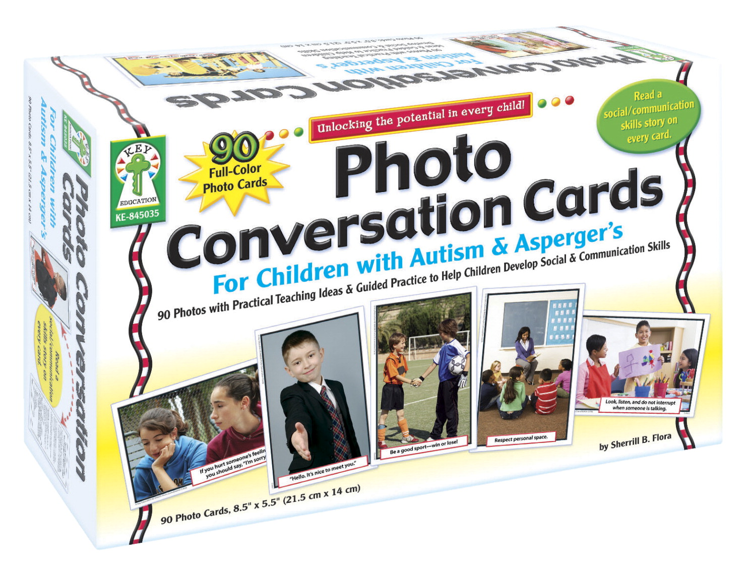 Carson-Dellosa Photo Conversation Cards for Children with Autism and Asperger's