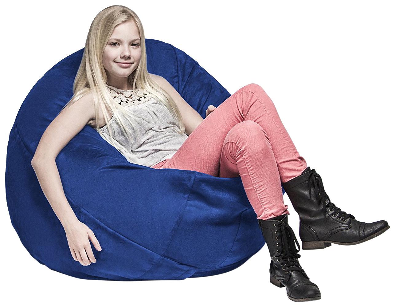 Astonishing Jaxx Cocoon Kids Bean Bag Chair 45 X 45 X 16 Inches Various Options Uwap Interior Chair Design Uwaporg