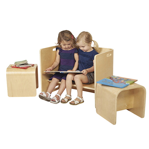 Ecr4kids Bentwood Multipurpose Table And Chair Set Soar