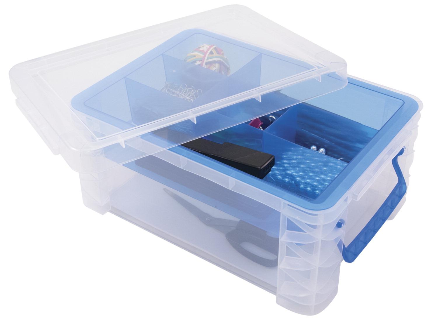 Super Stacker Divided Supply Box School Specialty