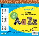 Barker Creek Letter Pop-Outs, 2 Inch, Africa, Set of 676