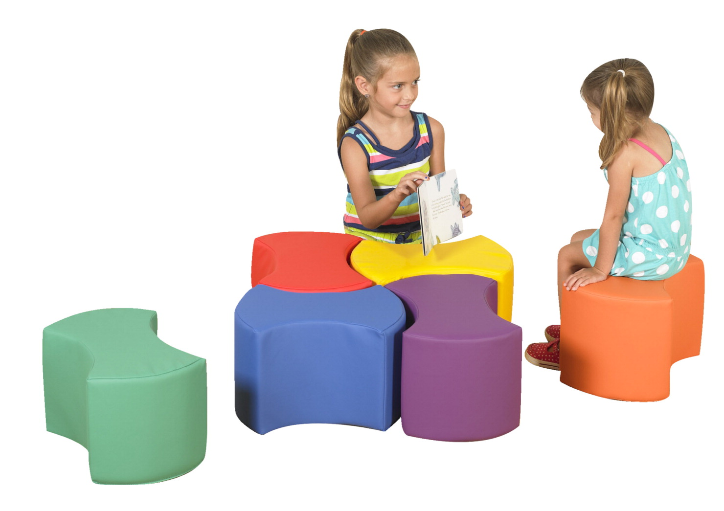 Children's Factory Bowtie Seating, Set of 6