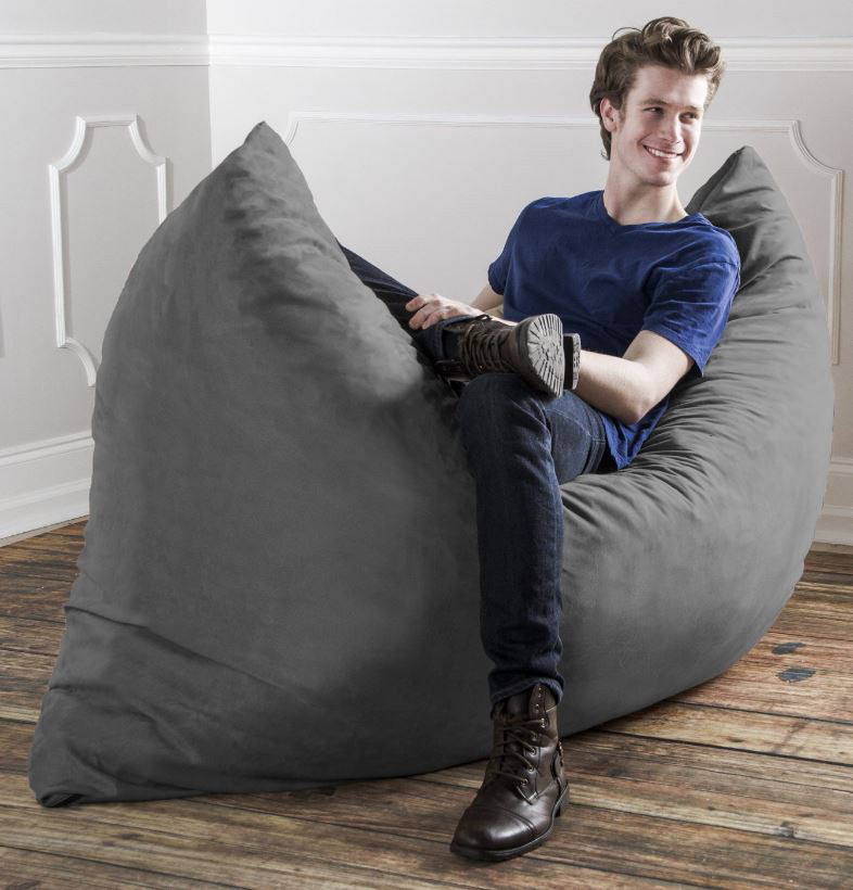 Giant Bean Bag Sofa also 271923475730 moreover Giant Snorlax Bean Bag Chair Cover furthermore Personal And Home as well A Bean Bag Chair Fit For An Evil Dorm Room Dictator. on gigantic bean bag chair