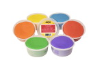 School Smart Gluten Free Scented Dough, 1 Pound, Assorted Colors, Set of 6