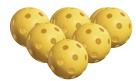 Onix Pure 2 Indoor Pickleballs, Yellow, Pack of 6