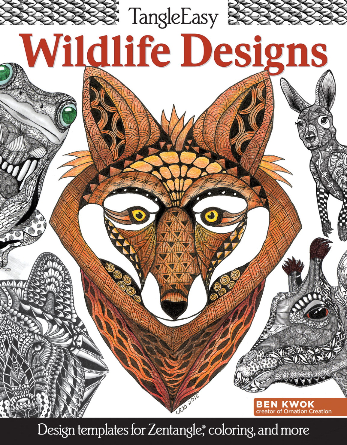 Design Originals, TangleEasy Book, Wildlife Designs