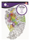 Simply Simmons Art Therapy Nature Coloring Pad, 8-1/2 x 11 Inches