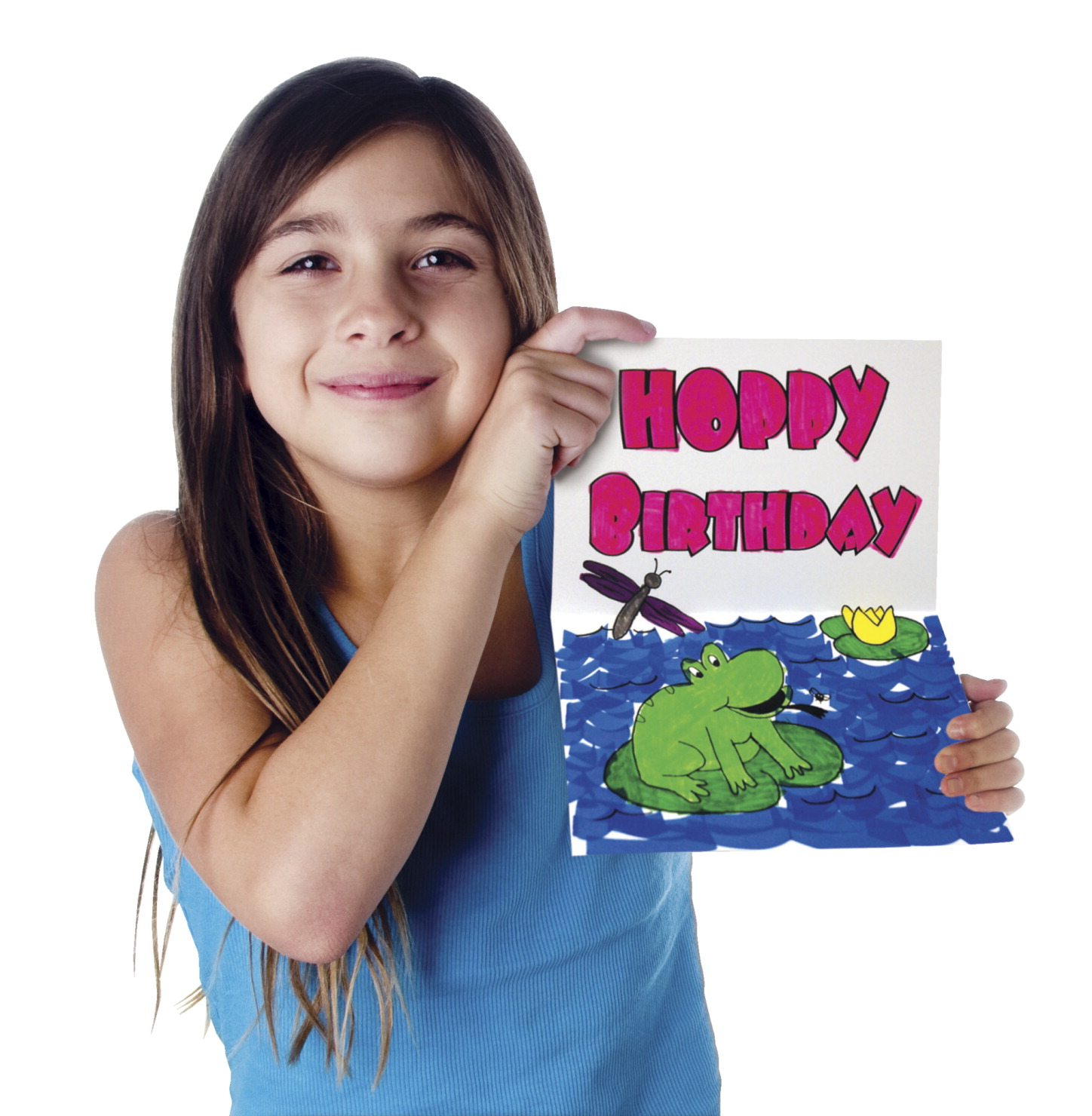 Pacon Color-Your-Own Kids' Birthday Cards, Set of 20