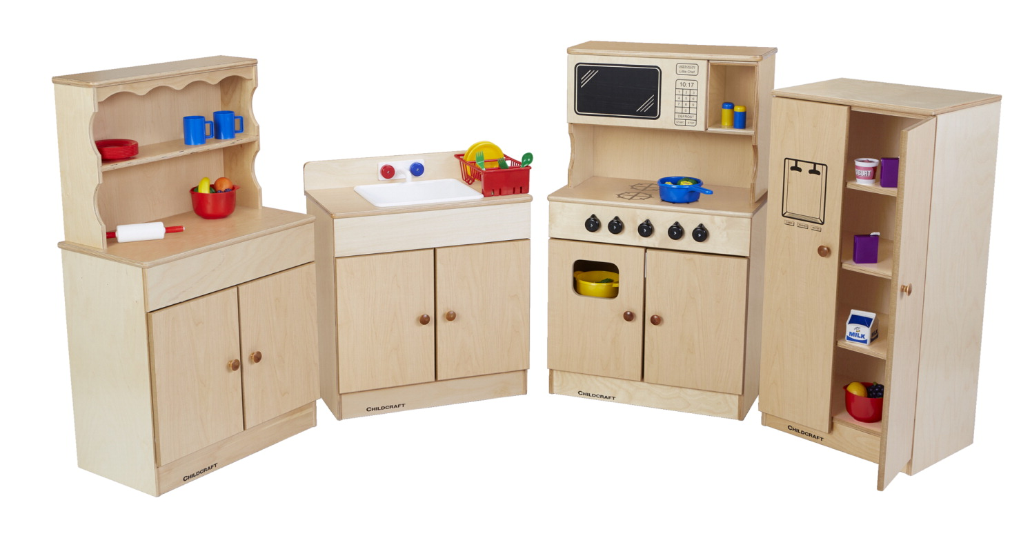 Childcraft play sink school specialty marketplace for Child craft play kitchen