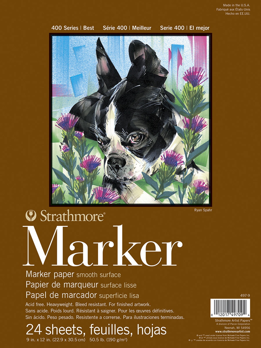 Strathmore 400 series Marker Paper 11x14 inch 24 pc