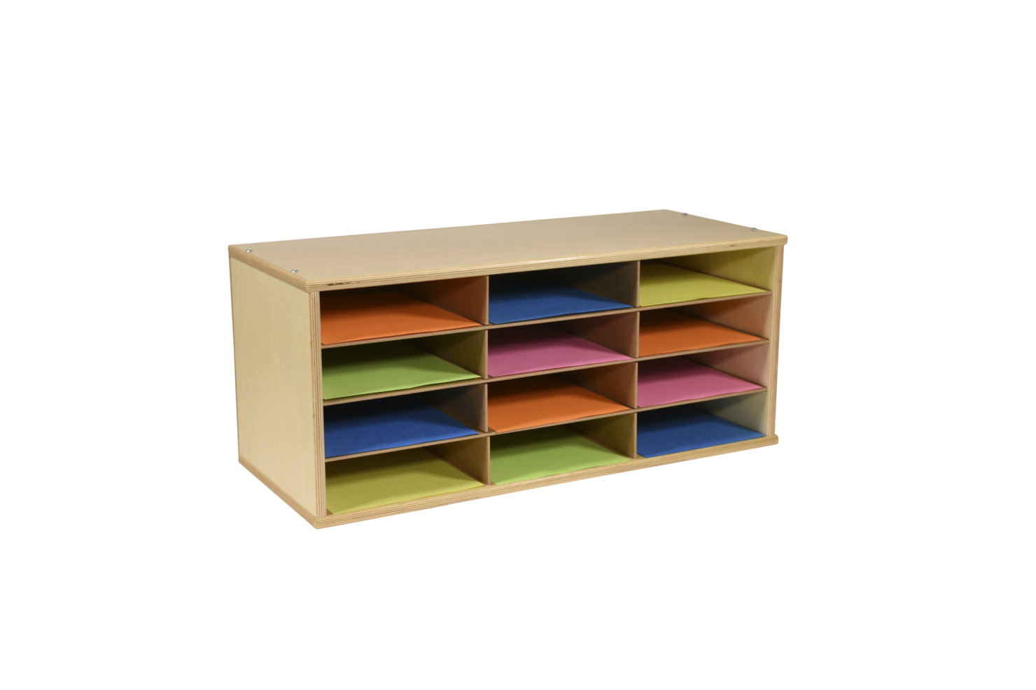 Classroom Select Storage Organizer, 12 Shelves, 29 x 12 x 12-1/2 Inches