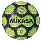 Mikasa Aura Model Soccer Ball, Size 5, Black and Neon Green