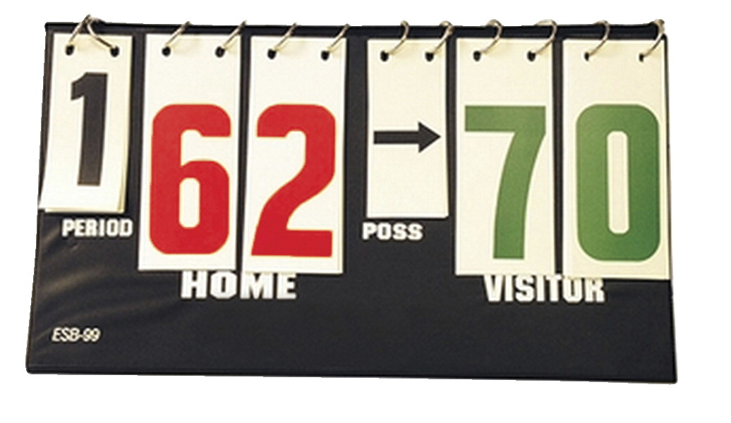 Tandem Sports Portable Scoreboard with Possession Arrows
