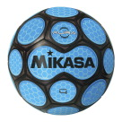 Mikasa Aura Model Soccer Ball, Size 4, Black and Neon Blue