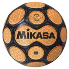 Mikasa Aura Model Soccer Ball, Size 5, Black and Neon Orange