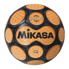 Mikasa Aura Model Soccer Ball, Size 4, Black and Neon Orange